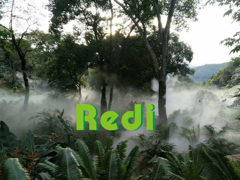 水雾景观造雾