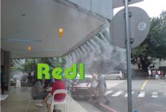 咖啡厅喷雾降温