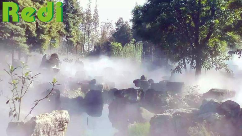 景观水雾系统