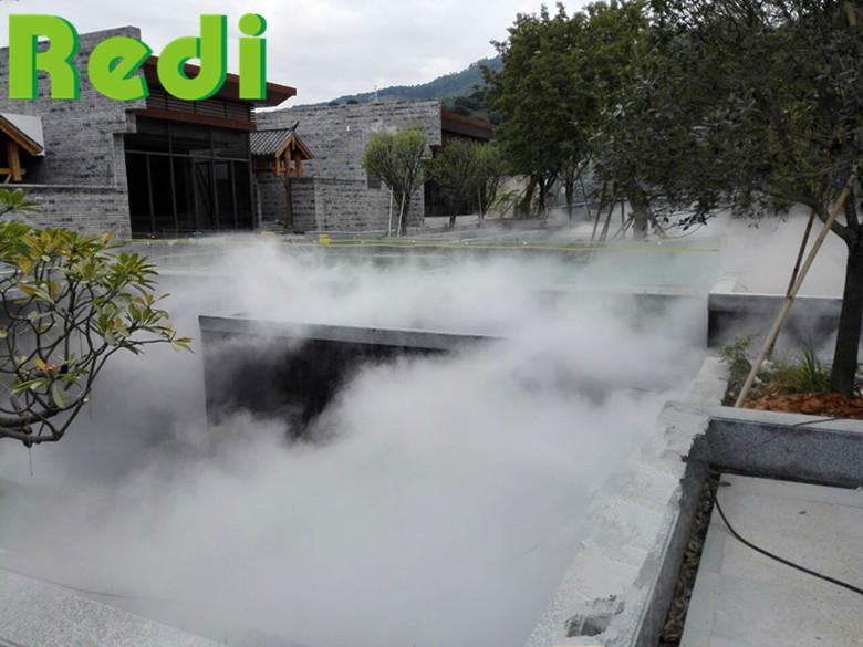 休闲山荘景观造雾系统