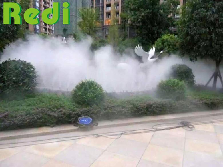 小区景观造雾