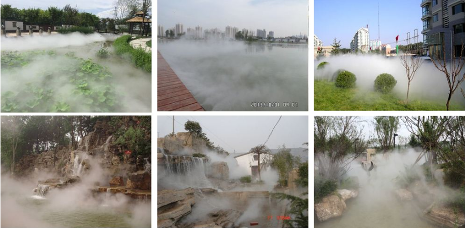 喷雾系统加湿器加湿