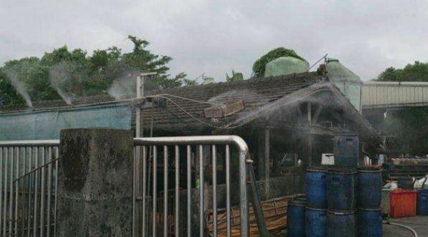 垃圾中转站喷雾除臭系统