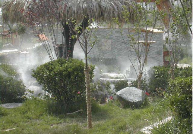 绿迪喷雾降温系统的应用范围
