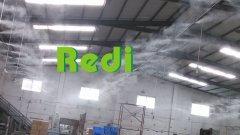 高压喷雾人造雾设备绿迪