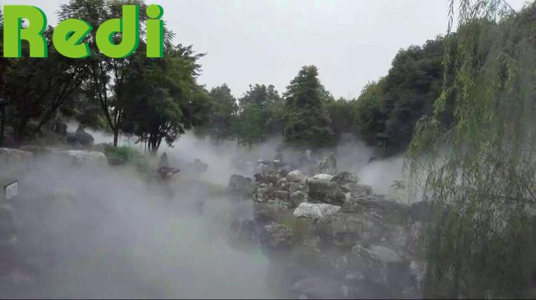 人造雾设备降尘原理和产