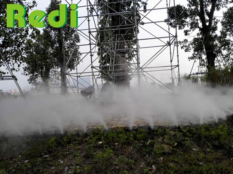 人造雾雾森系统的四大功