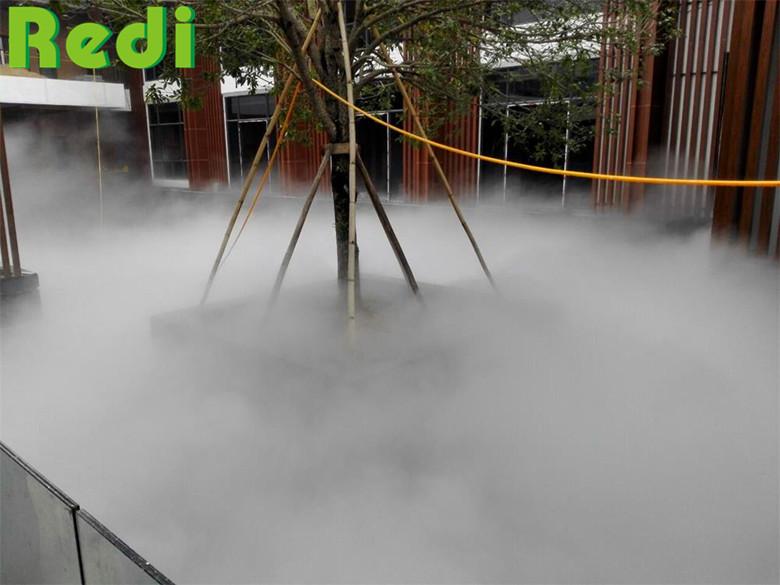 绿迪园林景观造雾的应用